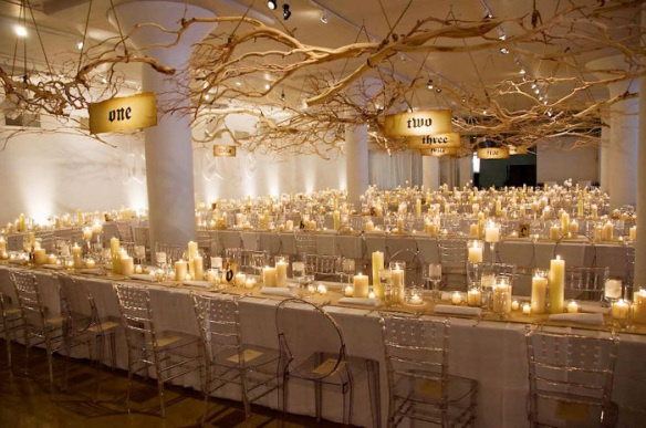 Branches & Candle Decor
