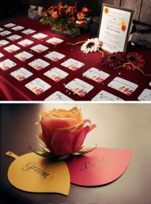 Great fall escort cards, Events by L