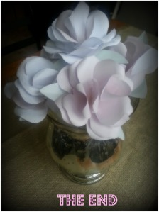 DIY paper flowers, paper roses, weddings