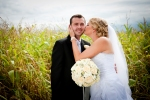 Wedding outdoor portraits