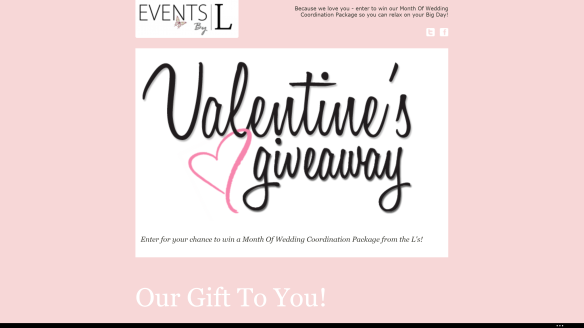 Chicagoland Brides: Events by L Valentine's Day Giveaway!