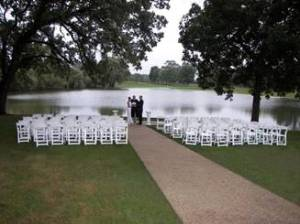 St. Andrews Golf Club, West Chicago, Outdoor Ceremony