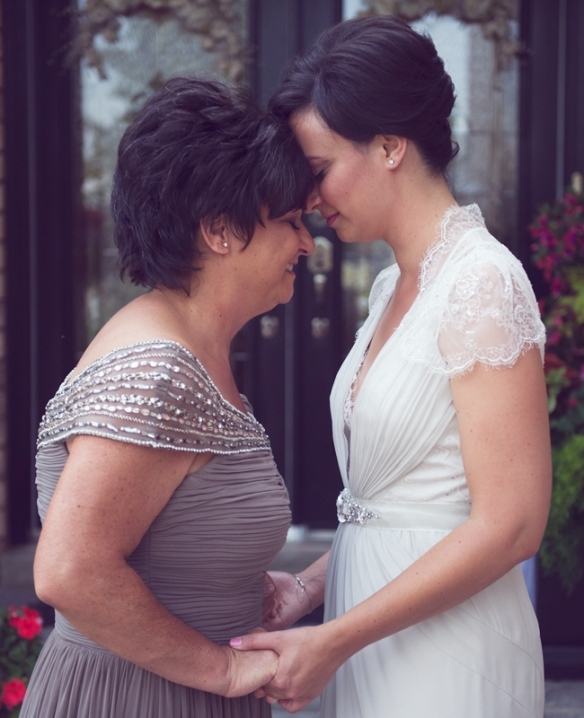 Brides and their moms | Delmore Creative Photography | blog.TheKnot.com