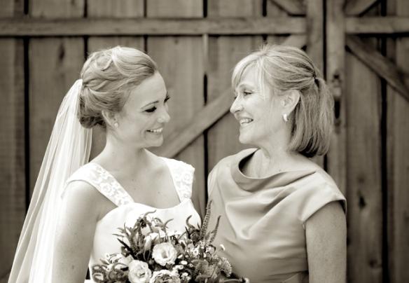 Brides and their moms | Melanie Mauer Photography | blog.TheKnot.com