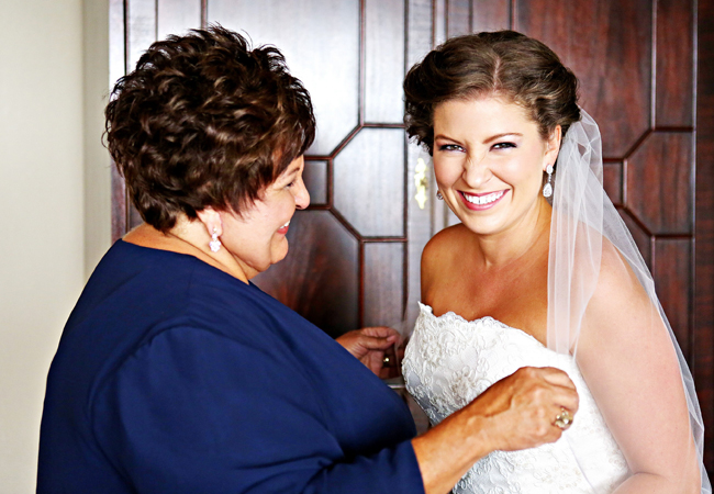 Brides and their moms | Bray Danielle Photography | blog.TheKnot.com