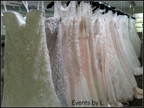 Illinois weddings, wedding gowns, bridal accessories, events by l