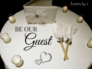 Events by L Wedding Day Guest Book