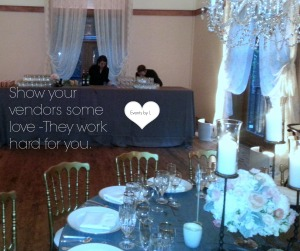 Wedding Vendor Love from Events by L