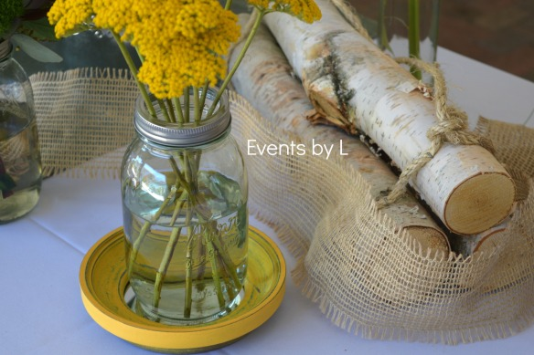 Events by L-fall centerpieces-Birchbark-weddings